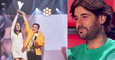 "El emotivo mensaje de Melendi a Levi Díaz tras alzarse ganador de 'La Voz Kids': ""Grande mi niño"""