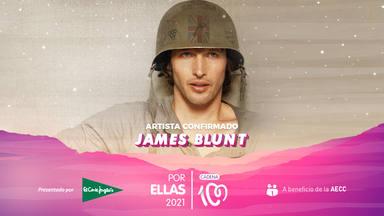 James Blunt, la estrella internacional que brillará en CADENA 100 Por Ellas 2021
