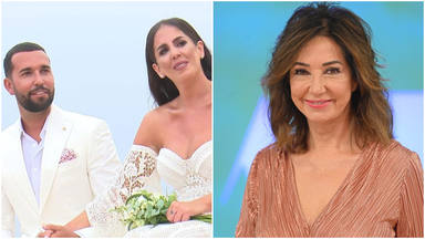 Ana Rosa reacciona a la boda de Anabel Pantoja