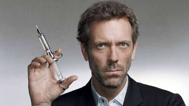 Hugh Laurie encarnó al Doctor House