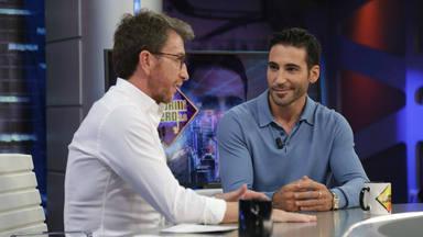 Pablo Motos y Miguel Ángel Silvestre en 'El Hormiguero'