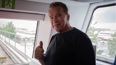 Arnold Schwarzenegger, de visita a Barcelona