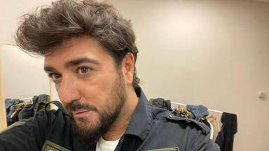 """Antonio Orozco presume del arte de su hijo Jan """"surfeando en las montañas"""""""