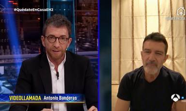 """Antonio Banderas se rompe en 'El Hormiguero' al hablar del trabajo de los sanitarios: """"Me saltan las lágrimas"""""""