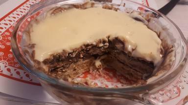 Receta de tarta de galletas y chocolate o tarta de la abuela