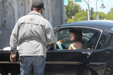 Dakota Johnson sufre un accidente de coche