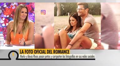 Marta López reacciona al primer posado de pareja entre Alfonso Merlos y Alexia Rivas
