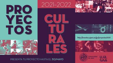 Abierta hasta el 30 de mayo la convocatoria de Proyectos Culturales de la Universidad de Jaén