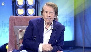 Raphael durante su entrevista en Viva la vida