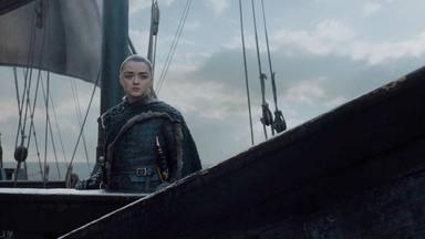 Arya Stark en 'Juego de Tronos 8x06'