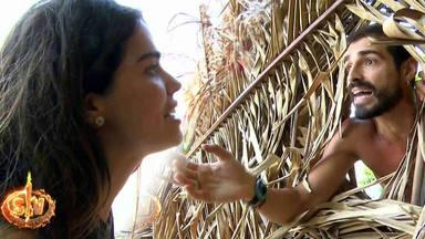 Fabio y Violeta, descubiertos ante su falso amor en 'Supervivientes 2019'