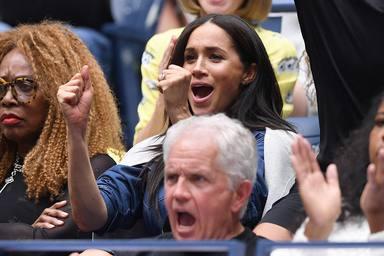 Meghan Markle en el US Open de tenis