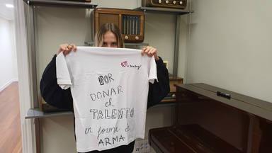 ¿Quieres ganar la camiseta de CADENA 100 firmada por Brisa Fenoy?