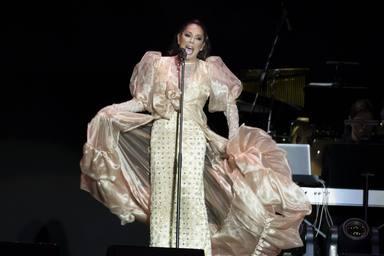 Isabel Pantoja en su concierto de Madrid