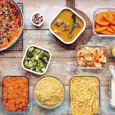 Las mejores ideas para el batch cooking semanal