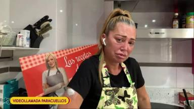 Belén Esteban llora desesperada por unos churros
