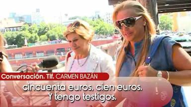 Carmen Bazán, pillada criticando a Belén Esteban cuando pensaba que no le estaban grabando