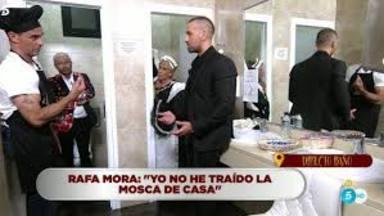 Alonso Caparrós y Rafa Mora se enfrentan por la mosca