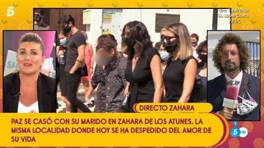 José Antonio León da todos los detalles sobre el entierro del marido de Paz Padilla