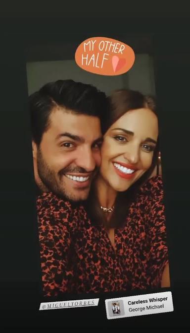 Miguel Torres fiesta de amigos con Paula Echevarría