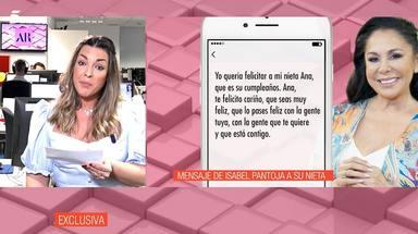 Los polémicos audios de Isabel Pantoja a las hijas de Kiko Rivera