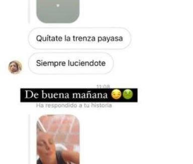 Rocío Flores muestra los últimos insultos que ha recibido en privado en Instagram