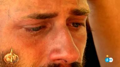 Las lágrimas de Albert en 'Supervivientes 2019'