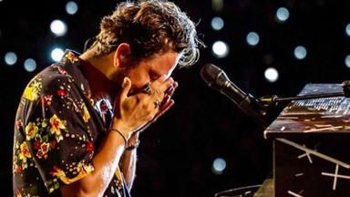 Manuel Carrasco, lágrimas de felicidad en Úbeda