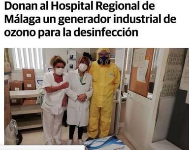 La madre de Vanesa Martín trabaja en el Hospital Regional de Málaga