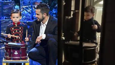 Hugo Molina, el pequeño tamborilero que ha pasado de ganar 'Got Talent' a homenajear a los sanitarios