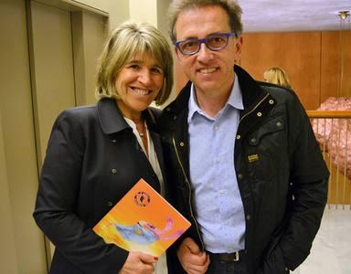 Jordi Hurtado y su mujer, Rosa Palau