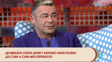 Jorge Javier Vázquez en el cara a cara con Antonio David