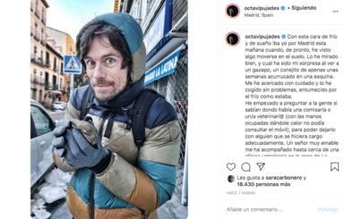Octavi Pujades salva a un conejito