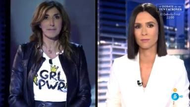 La tremenda metedura de pata de Paz Padilla en pleno directo que levanta ampollas en 'Informativos Telecinco'