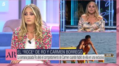 Sale a la luz la importante deuda de Olga Moreno que Rocío Flores se ofreció a pagar: No te voy a mentir