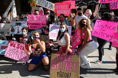 Britney Spears por fin es libre