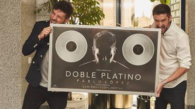 Pablo López acumula 6 Discos de Platino y 1 Disco de Oro