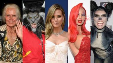 Heidi Klum, la reina de los disfraces, sorprende para mal con su vestimenta de este año