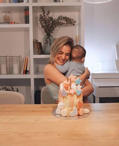 Laura Escanes celebra su cumpleaños en cuarentena