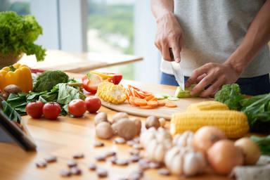La tabla es un utensilio clave en la cocina