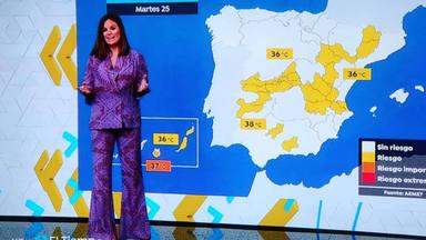 Merche, chica del tiempo de Antena 3