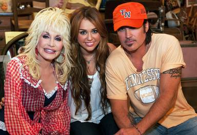 Billy Ray Cyrus Dolly Parton y Miley