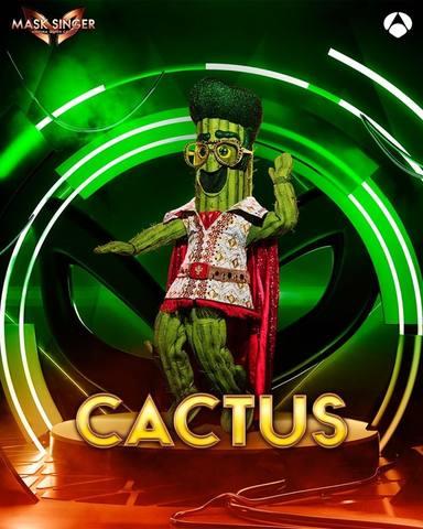 Cactus, una de las máscaras de Mask Singer 2