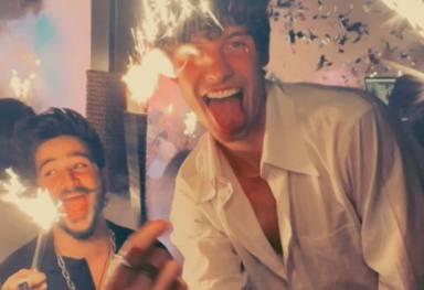 Camilo y Shawn Mendes