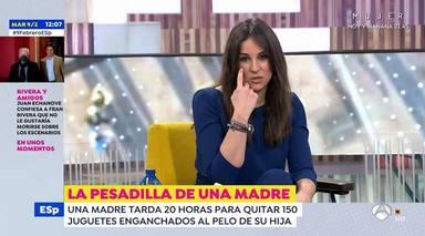 El reivindicativo mensaje de Lorena García sobre el papel de la mujer en televisión: De un hombre no se dice
