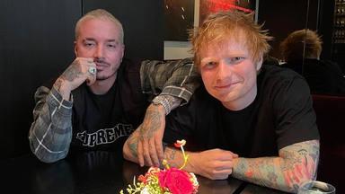 ¿Qué se traen entre manos J Balvin y Ed Sheeran? ¡Colaboración a la vista!