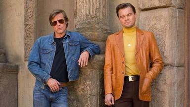 Brad Pitt y Leonardo DiCaprio en Érase una vez en... Hollywood