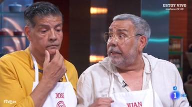 Los Chunguitos, José y Juan Salazar, en 'Masterchef celebrity 4'