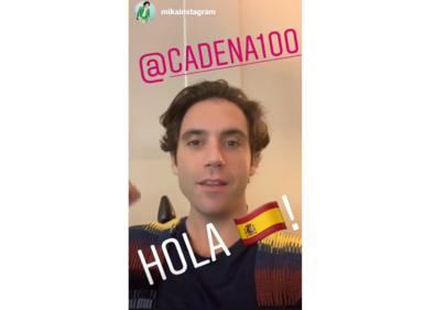 Mika en los ensayos de CADENA 100 Por Ellas en el Palacio de los Deportes de Madrid