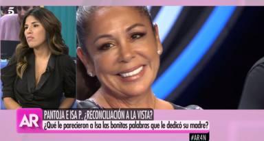 Isa Pantoja en 'El programa de Ana Rosa' e Isabel Pantoja en la presentación de 'Idol Kids'